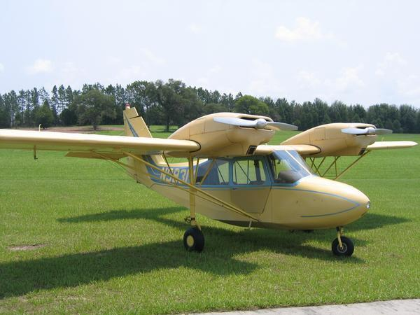 AVSIG: Believe it or NOT! 2 engine Piper Tri-Pacer